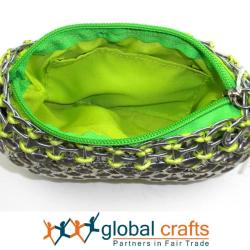 Recycled Pop Top Make-Up Bag (Mexico)