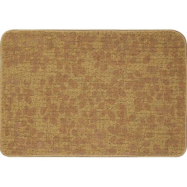 Somette Printed Sisal Chocolate Mat (2' x 3')