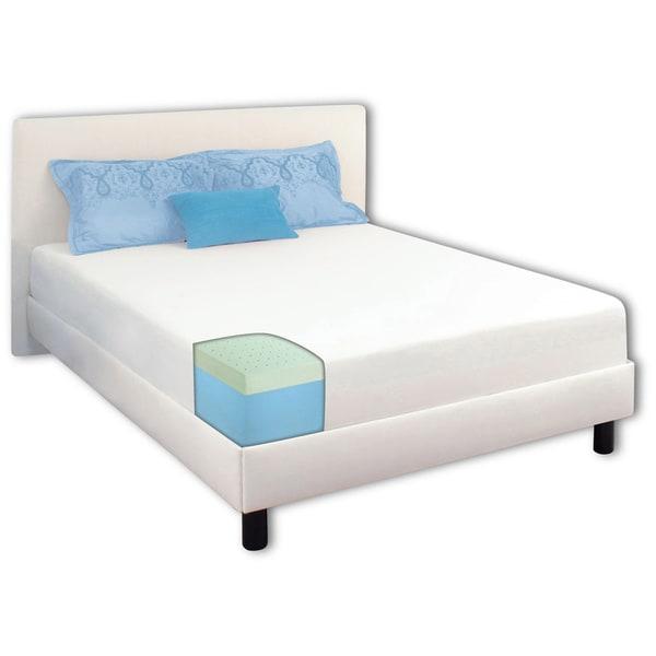 Dream Form Green Tea 8-inch Queen-size Memory Foam Mattress