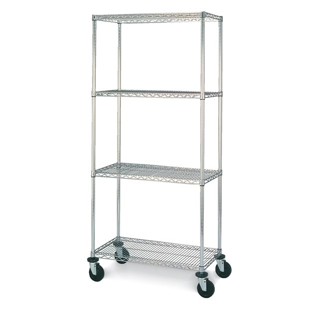 Olympic 4 Shelf Mobile Unit