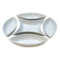 5-Piece Le Chef Ceramic Server Set