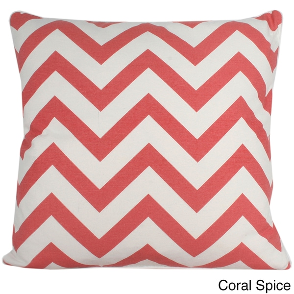 Chevron 20x20-inch Cotton Pillow