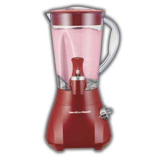 Hamilton Beach Red Ensemble Smoothie Dispensing Blender