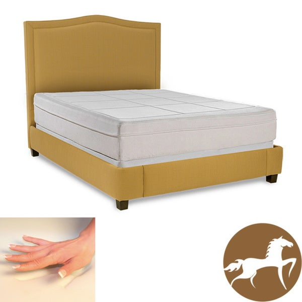 Spinal Response Comfort 11-inch Twin-size Memory Foam Mattress