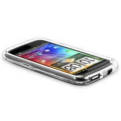 BasAcc Clear Snap-on Crystal Case for HTC Sensation 4G - Thumbnail 2