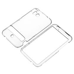 BasAcc Clear Snap-on Crystal Case for HTC ThunderBolt 4G - Thumbnail 1