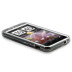 BasAcc Clear Snap-on Crystal Case for HTC ThunderBolt 4G - Thumbnail 2
