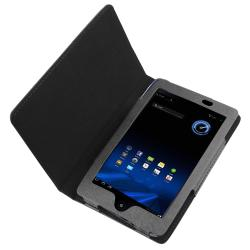INSTEN Black Leather Phone Case Cover for Acer Iconia Tab A100 - Thumbnail 1