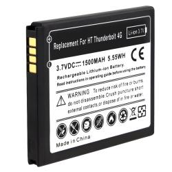 INSTEN Compatible Li-Ion Battery for HTC ThunderBolt 4G/ myTouch 4G - Thumbnail 2