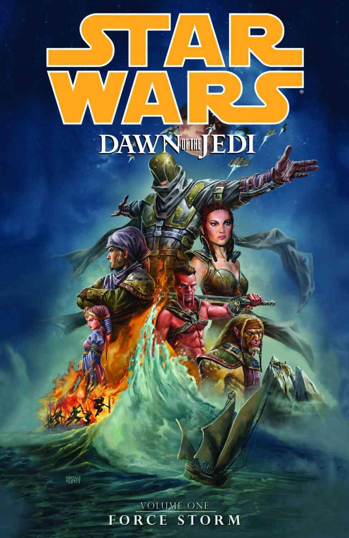 Star Wars: Dawn of the Jedi 1: Force Storm (Paperback)
