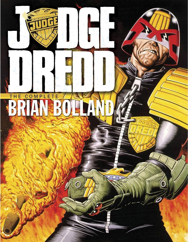 Judge Dredd: The Complete Brian Bolland (Hardcover)