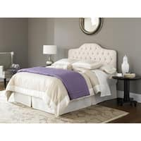 Fashion Bed Group Saint Lucia Ivory Upholstered Headboard