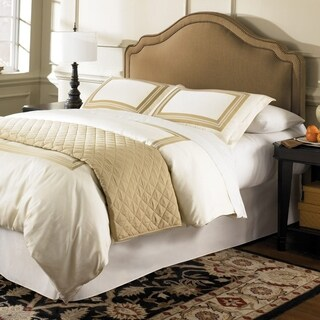 Saint Marie Adjustable Upholstered Headboard in Brown Sugar