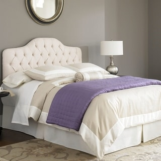 Fashion Bed Martinique Ivory Twin Upholstered Headboard