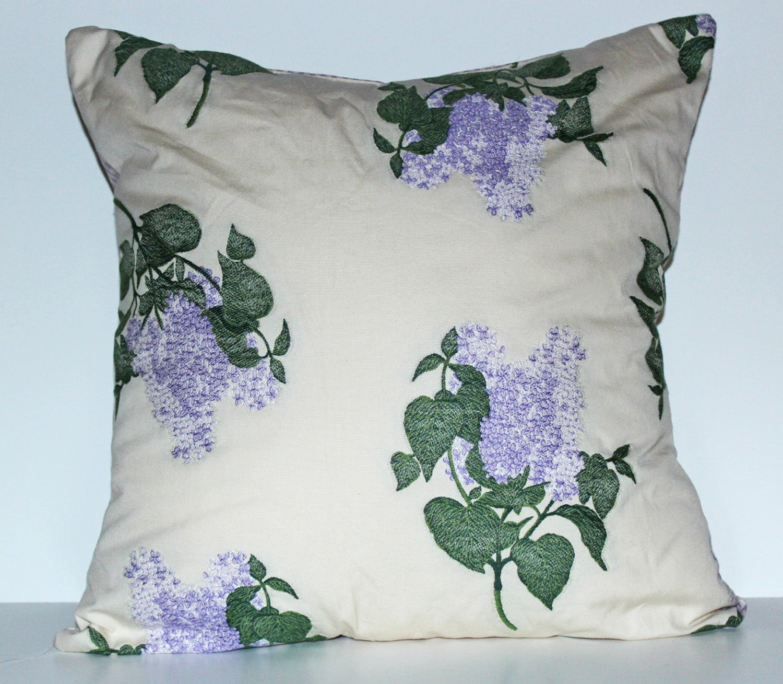 Hydrangea Decorative Pillow
