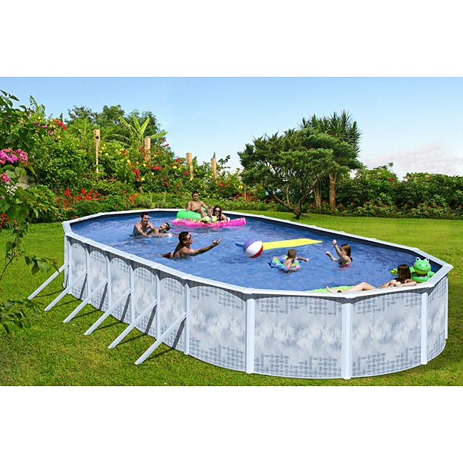 Quest 24-foot All-in-1 Above Ground Swimming Pool Kit