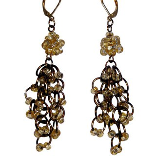 Handmade Chandelier Chain Maille Earrings (USA)
