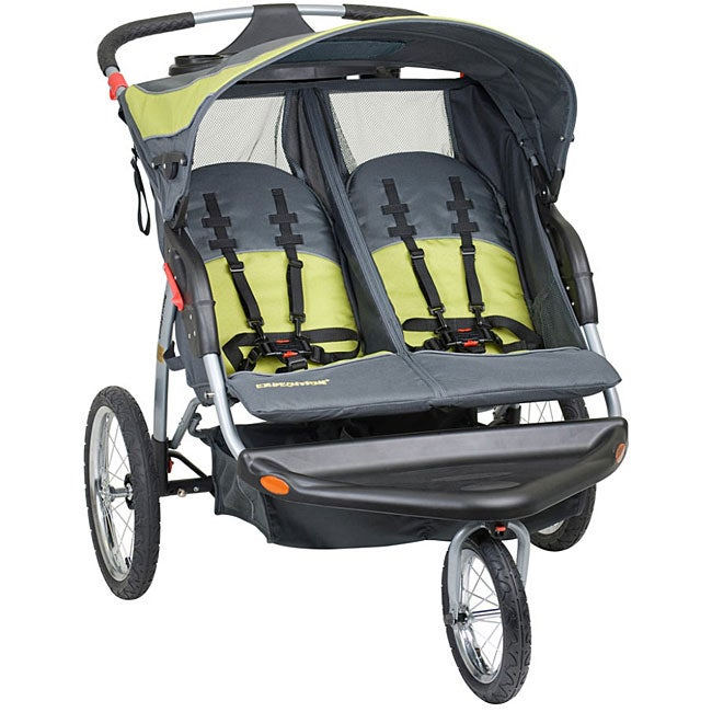 Baby Trend Expedition Carbon Double Jogger (Carbon), Gree...