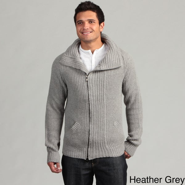 Civil Society Men's Knit Zip Front Sweater
