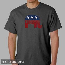 Los Angeles Pop Art Men's GOP T-Shirt