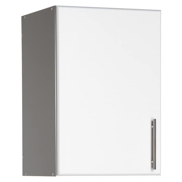Prepac Elite 16-inch Stackable Wall Cabinet, Multiple Finishes