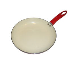 Professional 8-inch Aluminum Frypan with Ceramic Nonstick Coating