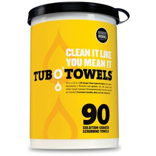 Tub O' Towels 90/Pkg