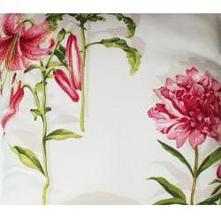 Shop Secret Garden Cream 26x26 Inch Decorative Pillow