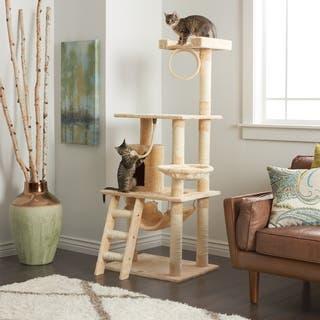 Go Pet Club 62 inch Cat Tree. Cat Furniture For Less   Overstock com