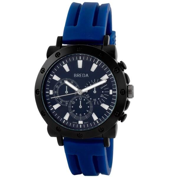 Breda Men's 'Tripp' Bold Textured Watch
