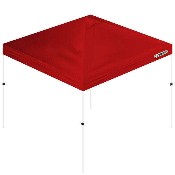 Trademark First-Up Gazebo Red Tent Canopy (10' x 10')