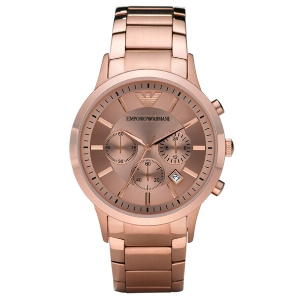 Emporio Armani Men's Stainless Steel Watch