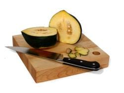 JK Adams 10-Inch Square Birch Wood Cutting Board