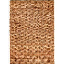 LR Home Natural Fiber Natural Jute Braided Area Rug ( 9' x 12' ) - 9'2 x 12'6 - Thumbnail 0