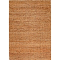 LR Home Natural Fiber Natural Jute Braided Area Rug ( 9' x 12' ) - 9'2 x 12'6