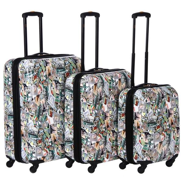 Lucas 'World Tour' Three-piece Luggage Set