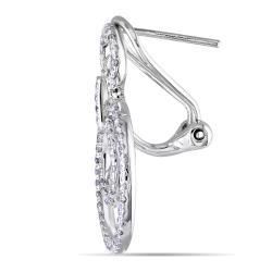 Miadora  14k White Gold 4/5ct TDW Diamond Earrings (G-H, SI1-SI2) - Thumbnail 1