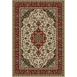 Medallion Traditional Ivory 9'3x12'6