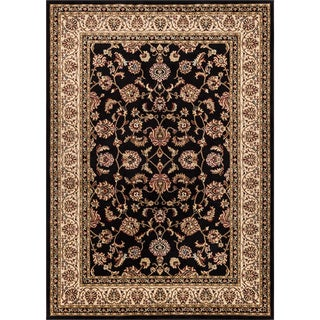Ariana Palace Black Area Rug (9'3' x 12'6')