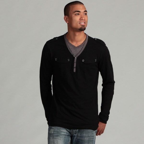 WT02 Men's Henley Shirt