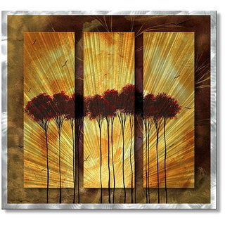 Megan Duncanson 'Shrouded in Mystery' Metal Wall Sculpture