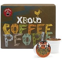 Coffee People Black Tiger Dark Roast K-Cups for Keurig