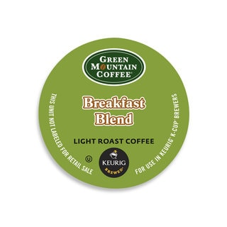 Green Mountain Coffee Breakfast Blend K-Cups for Keurig Brewers