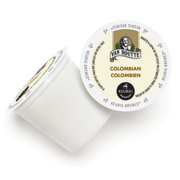 Van Houtte 100-percent Colombian Medium Roast Coffee K-Cups for Keurig Brewers