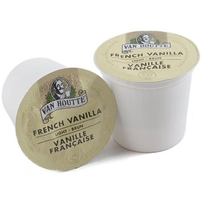 Van Houtte French Vanilla Coffee K-Cups for Keurig Brewers 96 K-Cups