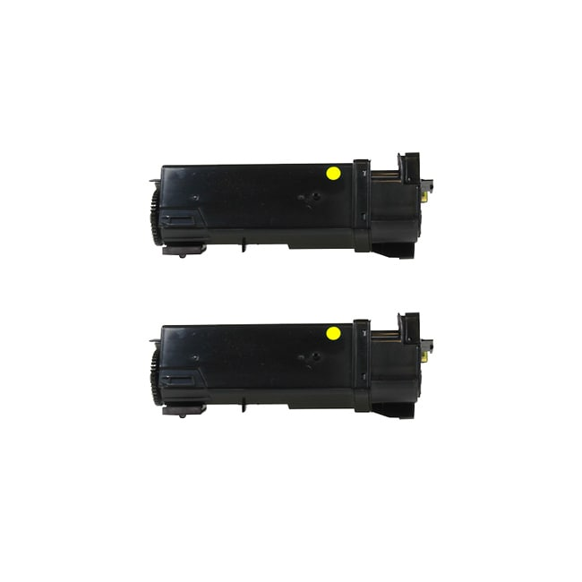 Dell 1320 1320C 310-9062 Compatible Yellow Toner Cartridges (Pack of 2)
