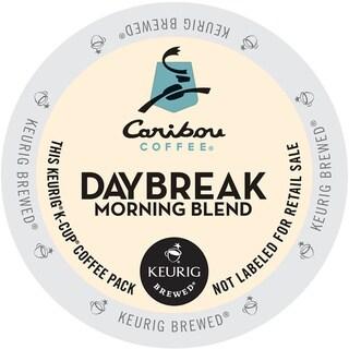 Caribou Coffee Daybreak Morning Blend K-Cups for Keurig Brewers