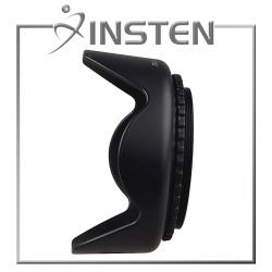 INSTEN 58-mm Crown-shaped Camera Hood Suitable for Black Lens/Filters