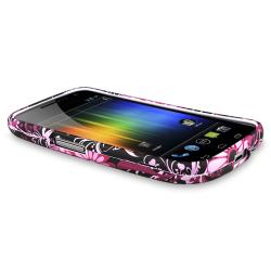 Purple Snap-on Rubber Coated Case for Samsung Galaxy Nexus GSM i9250
