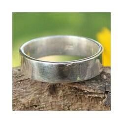 Handmade Sterling Silver 'Fidelity Trust' Ring (Thailand)